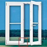 Практичное решение для 2-створчатых окон