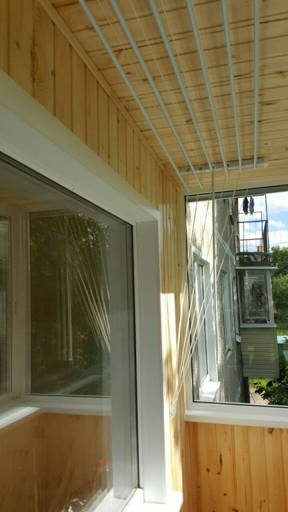 Отделка балкона (2)