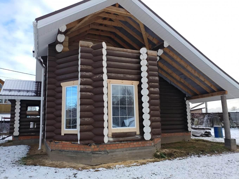 Остекление деревянного дома (3)