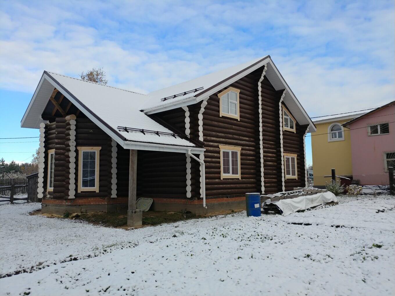 Остекление деревянного дома (2)